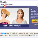 MyWebFace toolbar ekrano nuotrauka