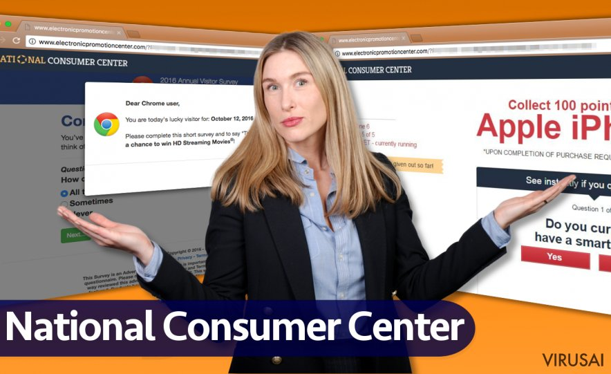 National Consumer Center reklamos