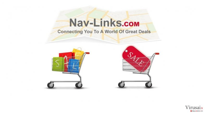 Nav-Links ekrano nuotrauka
