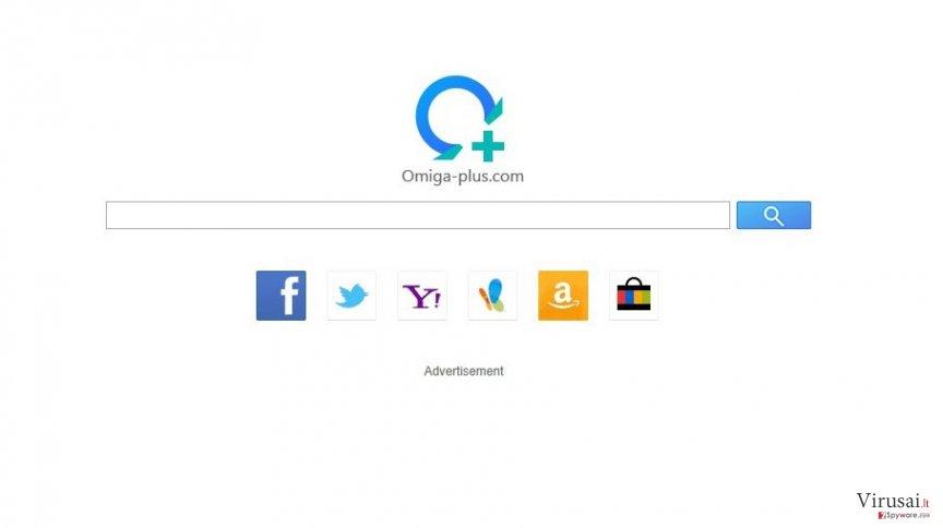Omiga Plus ekrano nuotrauka