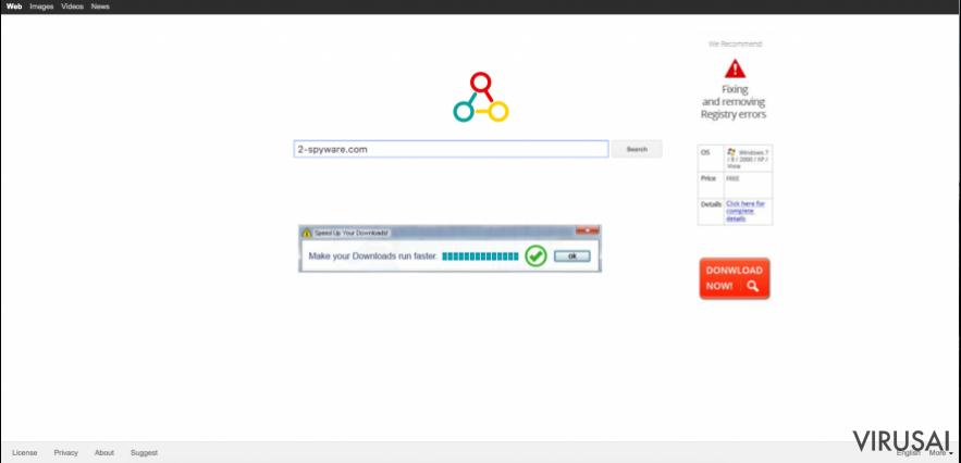 Omniboxes.com virusas ekrano nuotrauka
