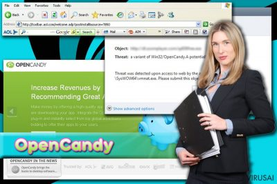 OpenCandy ads