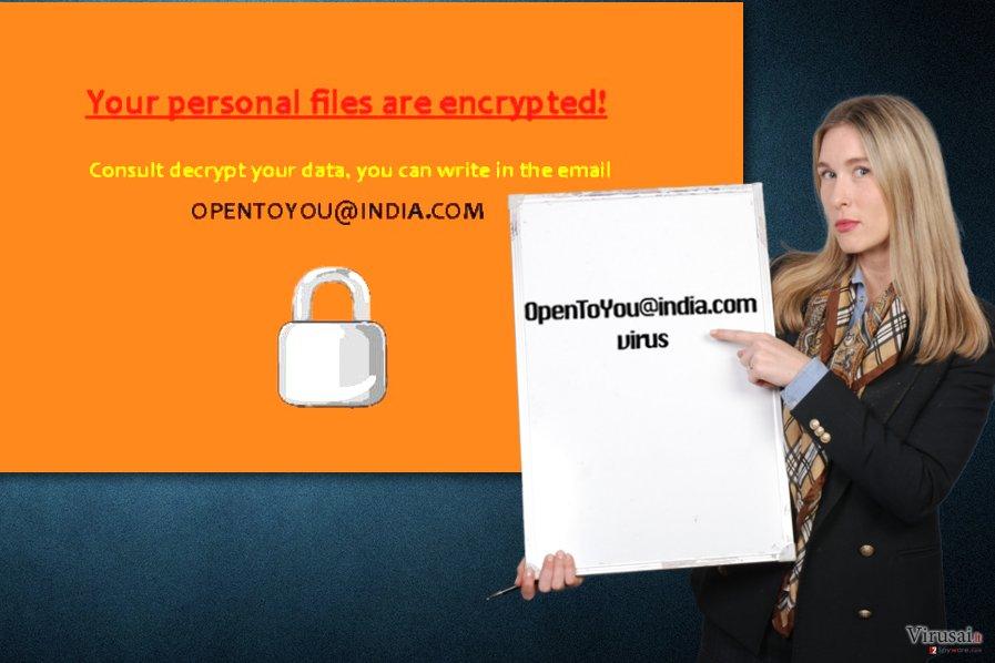 Opentoyou@india.com virusas