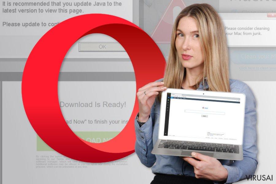 Opera peradresavimo viruso keliamos problemos