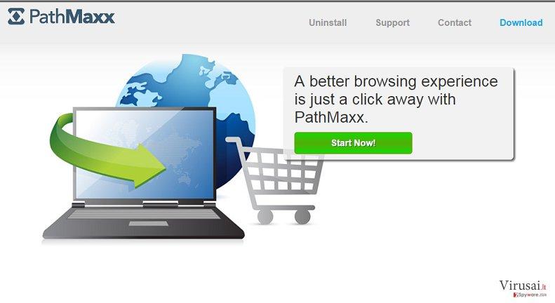 PathMaxx reklamų pašalinimas ekrano nuotrauka