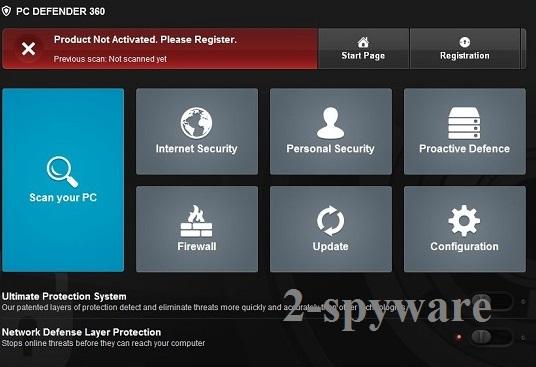 PC Defender 360 ekrano nuotrauka