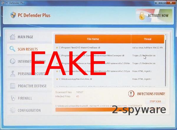 PC Defender Plus ekrano nuotrauka