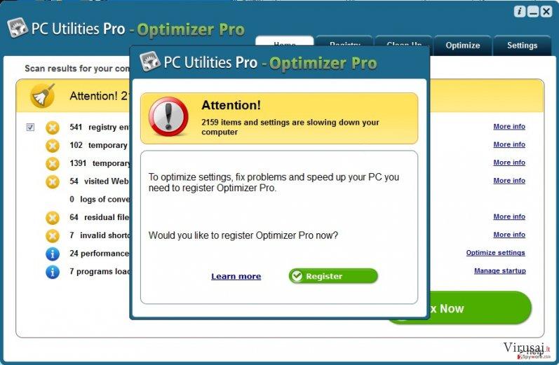 PC Utilities Pro – Optimizer Pro ekrano nuotrauka