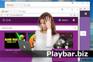Playbar.biz virusas
