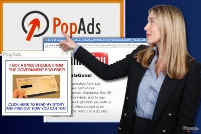 PopAds reklamos