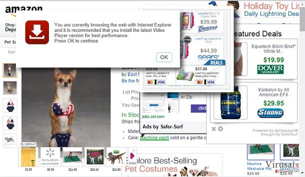 Provider reklamų nuotraukos