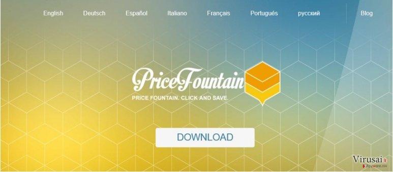 PriceFountain viruso nuotrauka