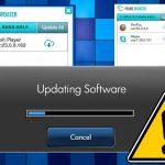 Prime Updater virusas ekrano nuotrauka