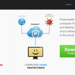 Search.protectedio.com ekrano nuotrauka