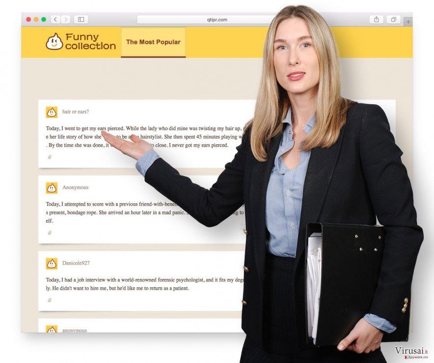 Qtipr.com virusas ekrano nuotrauka