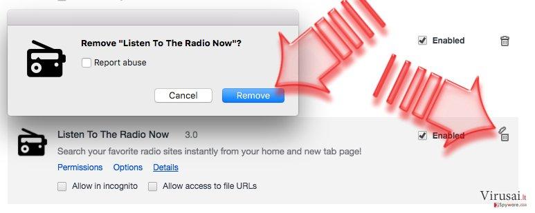 Pašalinkite Search.searchlttrnow.com virusą iš Chrome