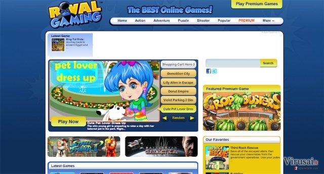 RivalGaming.com ekrano nuotrauka