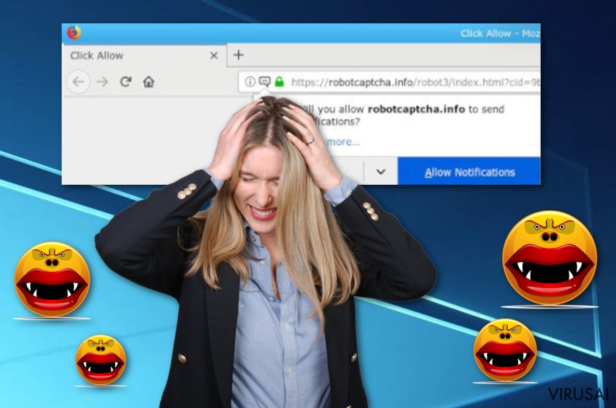 Robotcaptcha.info reklaminis virusas