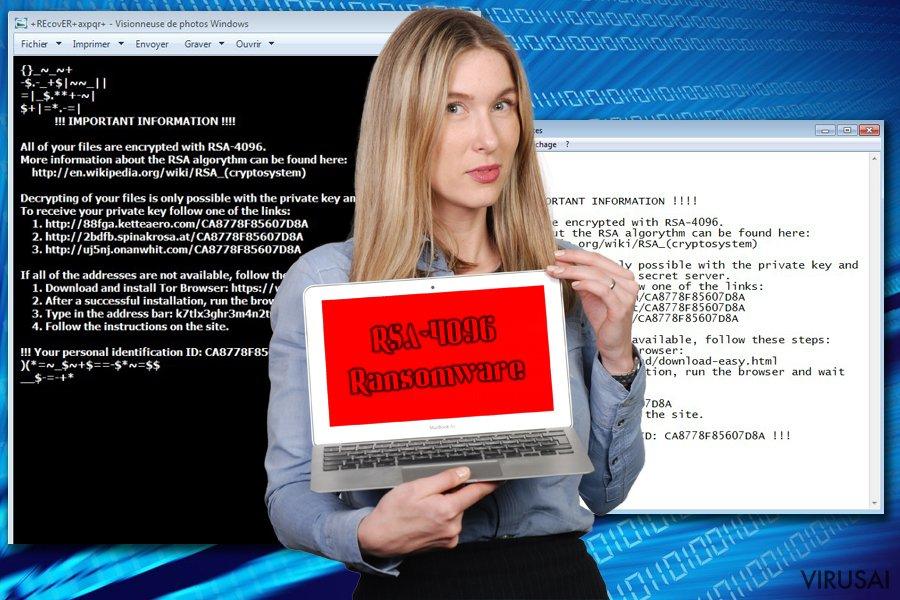 RSA-4096 šifras