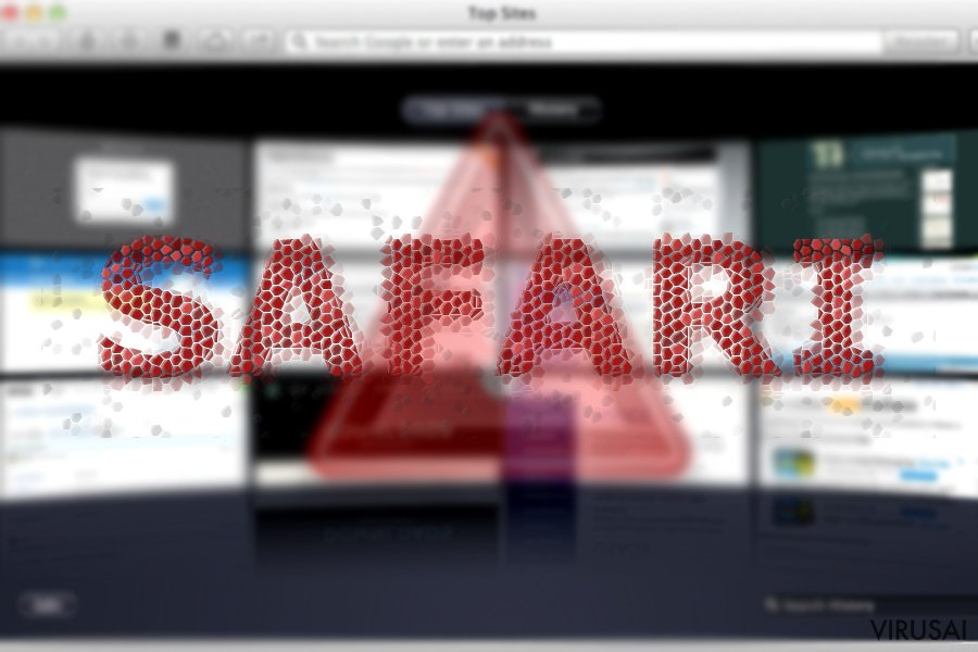 Safari peradresavimo virusas