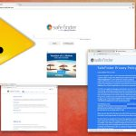 Safe Finder virusas ekrano nuotrauka