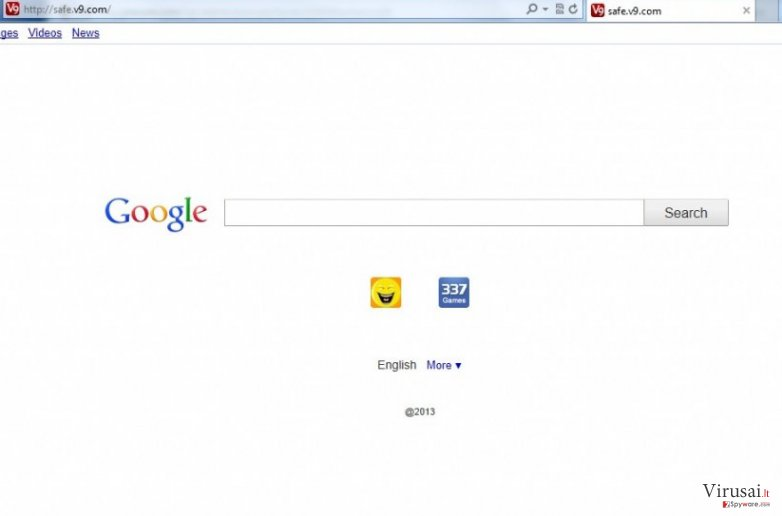 safe.v9.com ekrano nuotrauka