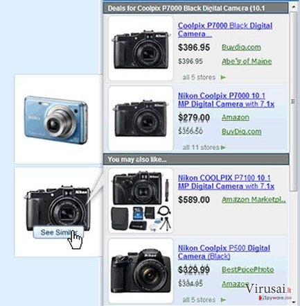 Sale-o pranešimai ekrano nuotrauka