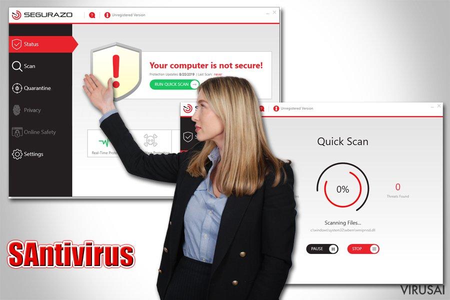 SAntivirus antivirusinė