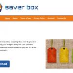 Saver Box pranešimai ekrano nuotrauka