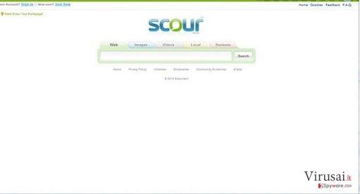 Scour Virus ekrano nuotrauka