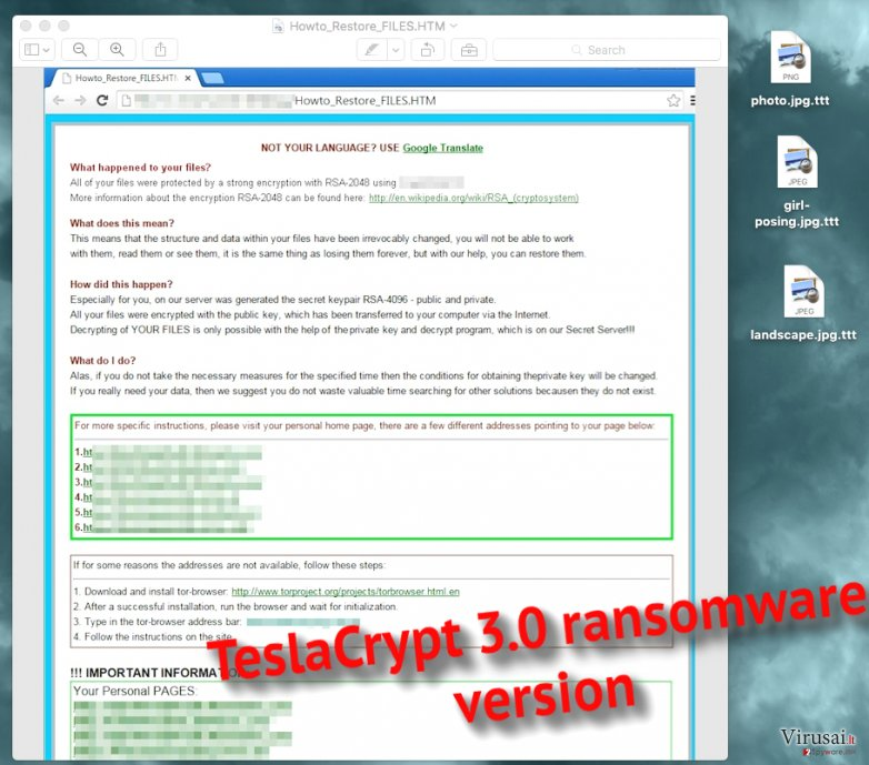 .ttt file extension virus