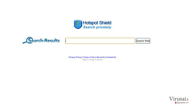 Search.anchorfree.net ekrano nuotrauka