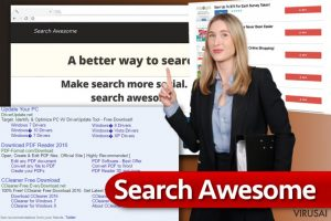 Search Awesome virusas