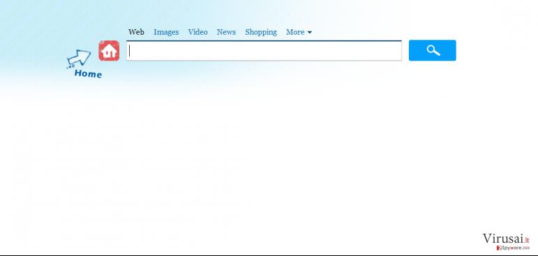 Search.genieo.com virusas ekrano nuotrauka