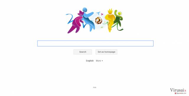 Search.iminent.com virus ekrano nuotrauka