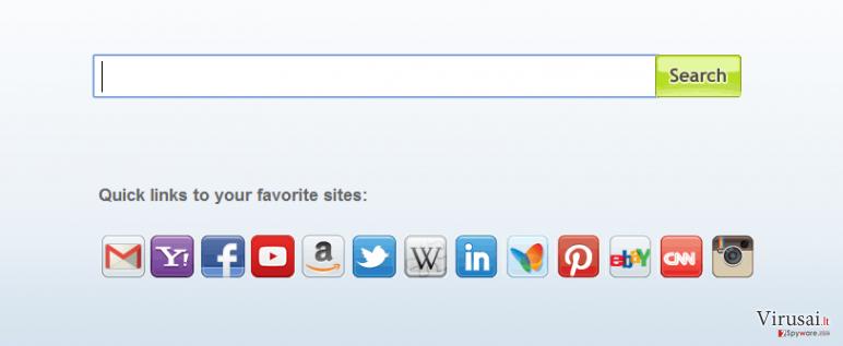 Search.myway.com virusas ekrano nuotrauka