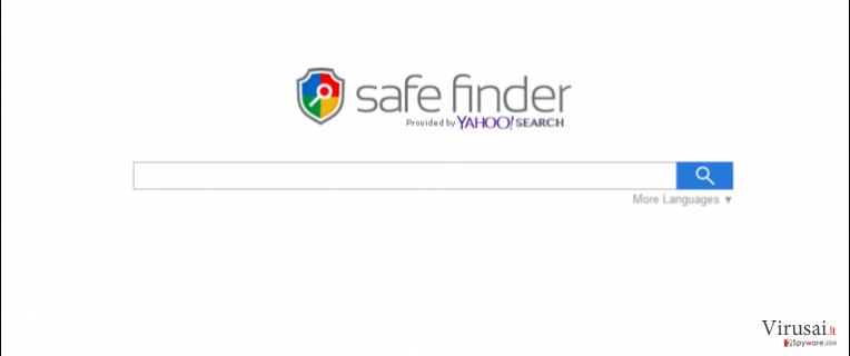 Search.SafeFinder.com ekrano nuotrauka