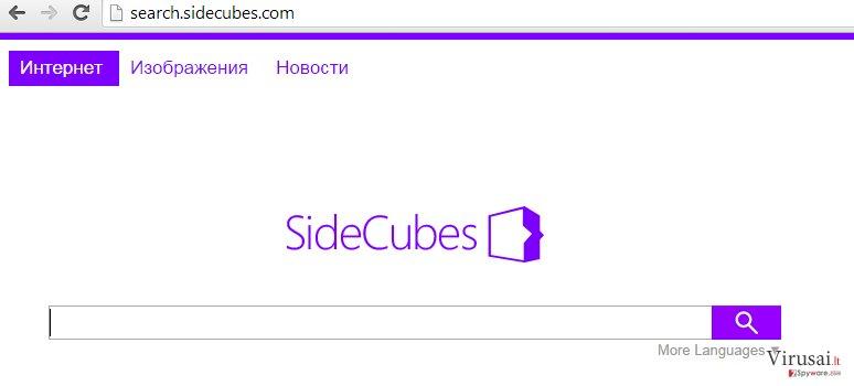 Search.sidecubes.com ekrano nuotrauka