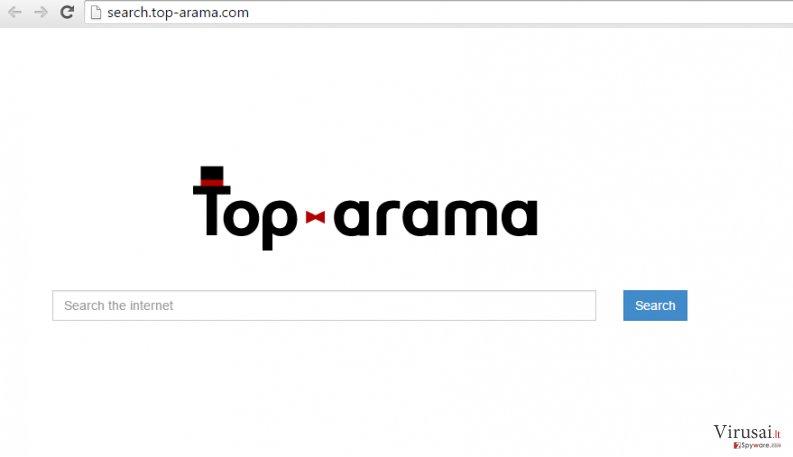 Search.top-arama.com redirect