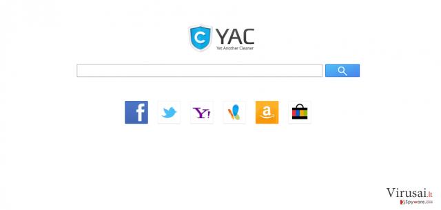 Search.yac.mx ekrano nuotrauka