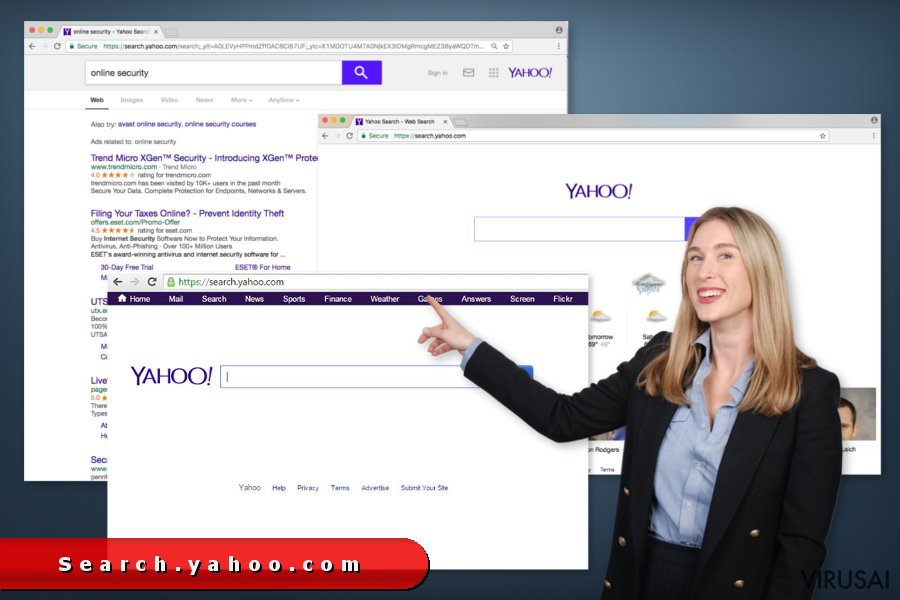 search.yahoo.com redirect