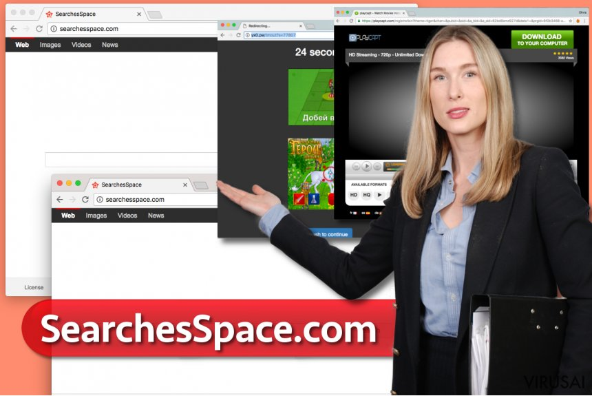 SearchesSpace.com virusas