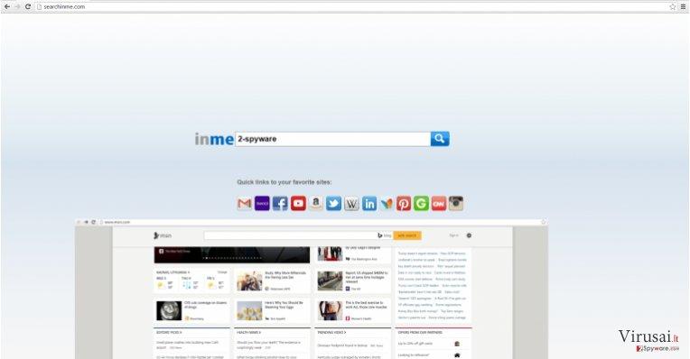 Searchinme.com paieškos sistemos paveikslas