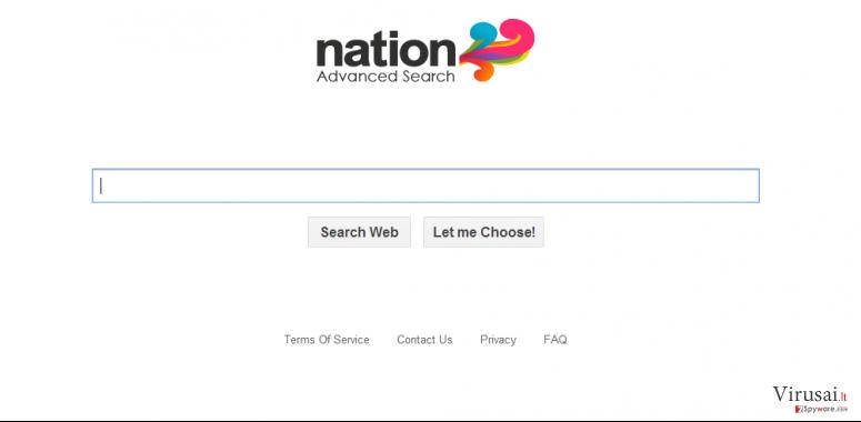 Searchsafer.com redirect virus ekrano nuotrauka