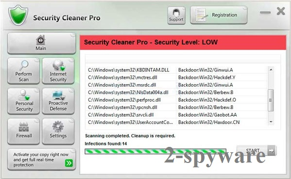 Security Cleaner Pro ekrano nuotrauka