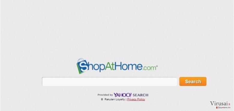 ShopAtHome.com ekrano nuotrauka