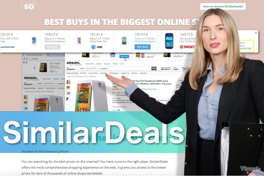 SimilarDeals reklamos