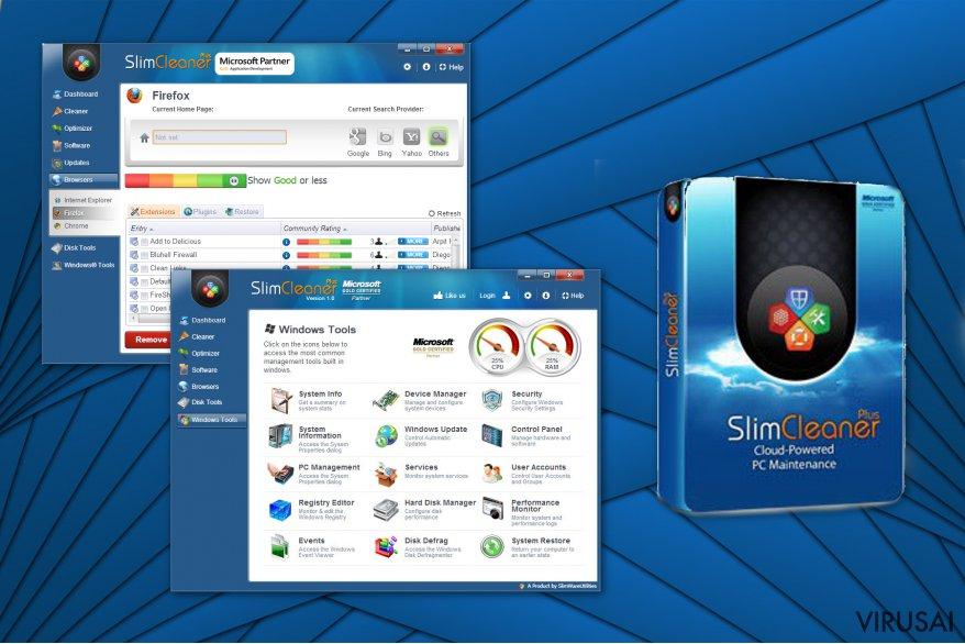 SlimCleaner Plus virusas