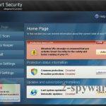 Smart Security ekrano nuotrauka