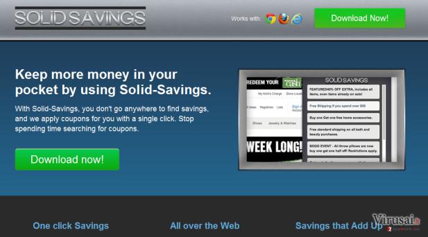 Solid Savings ekrano nuotrauka